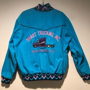Other - Vintage Style Trucker Jacket/ Lebron SB Colors